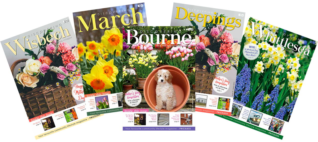 The March 2019 issues of Discovering Magazine